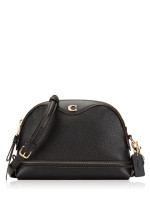 COACH 37863 Ivie Leather Crossbody Black