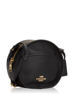 COACH 27971 Smooth Leather Canteen Crossbody Black
