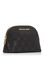 MICHAEL KORS Jet Set Perforated Large Travel Pouch Black