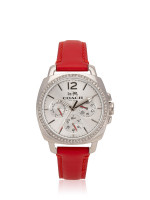 COACH 14502171 Boyfriend Leather Strap Red