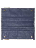 FOSSIL SL7767406 Shelby Leather Wallet Midnight Navy