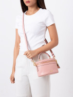 COACH 39293 Selena Leather Trail Bag Peony