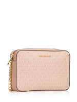 MICHAEL KORS Jet Set Signature Large Crossbody Fawn Ballet