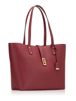 MICHAEL KORS Karson Large Leather Tote Mulberry