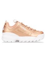 FILA Disruptor 2 Sneakers Rosegold White Sz 5
