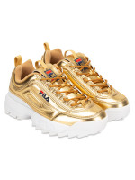 FILA Disruptor 2 Sneakers Gold White Sz 5