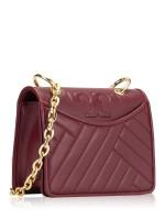 TORY BURCH Alexa Mini Shoulder Bag Imperial Garnet