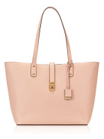 MICHAEL KORS Karson Large Leather Carryall Tote Pastel Pink