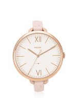 FOSSIL ES4356 Annette Leather Strap Pastel Pink