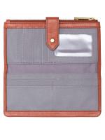 FOSSIL SWL2060861 Lainie Zip Wallet Terracotta