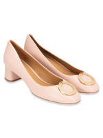 TORY BURCH Caterina Leather Pump Sea Shell Pink Sz 7.5