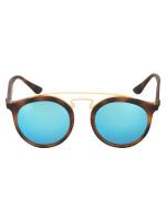 RAY-BAN RB4256 Gatsby Mirror Sunglasses Black Blue
