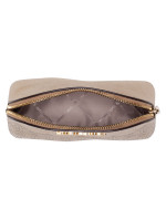 MICHAEL KORS Jet Set Perforated Large Pouch Gold