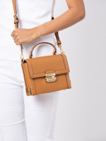 MICHAEL KORS Jayne Leather Small Trunk Bag Acorn