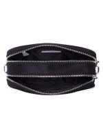 MICHAEL KORS Connie Nylon Small Camera Bag Black Optic White