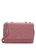 KATE SPADE Briar Lane Quilted Emelyn Plum Berry