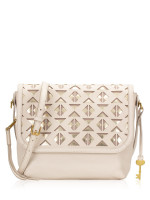 FOSSIL ZB7651084 Maya Large Crossbody Winter White