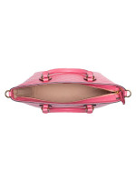 GUCCI Guccissima Leather Small Tote Pink