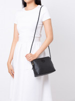 TORY BURCH Taylor Leather Camera Bag Black