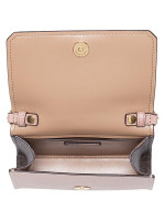 MICHAEL KORS Hayes Leather Small Clutch Fawn Ballet