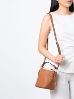 KATE SPADE Hayes Bucket Bag Warm Gingerbread