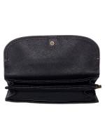 FOSSIL SWL3089001 Cleo Leather Clutch Black