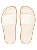 FENDI Men Logo Slide Sandals White Sz 6