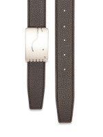 HERMES A Cheval Swift Reversible Belt 32mm Bleu Hydra