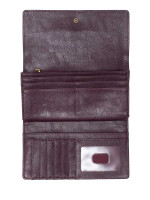 FOSSIL SL7847564 Logan Flap Wallet Purple Multi
