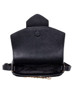 MICHAEL KORS Karla Small Saddle Crossbody Black