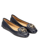 MICHAEL KORS Lillie Leather Flats Admiral Sz 5