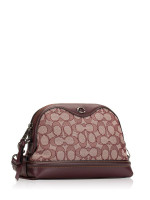 COACH 38113 Signature Ivie Crossbody Raspberry