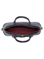 COACH 46289 Ivie Leather Dome Satchel Midnight