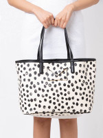 MARC BY MARC JACOBS Metropolitote Spotted Tote Leche Multi