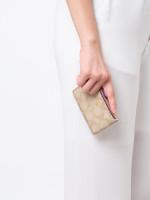 COACH 16107 Signature Leather Mini Skinny Light Khaki Primrose