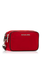MICHAEL KORS Connie Nylon Small Camera Bag Chili
