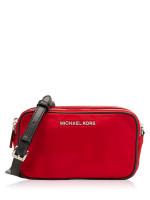 MICHAEL KORS Connie Nylon Small Camera Bag Chili
