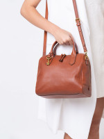 FOSSIL SHB2161210 Fiona Satchel Medium Brown