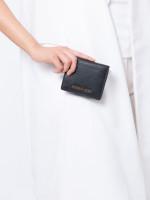 MICHAEL KORS Jet Set Leather Carryall Card Case Black