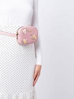 COACH 73152 Tossed Daisy Belt Bag Carnation