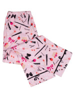 KATE SPADE Dream A Little Dream Long Sleeve Pajamas Pink Multi Sz M