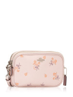 COACH 29549 Floral Bow Crossbody Ice Pink