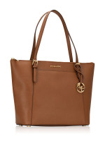 MICHAEL KORS Ciara Large Saffiano Top Zip Tote Luggage