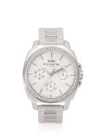 COACH 14503129 Boyfriend Chronograph Stainless Silver