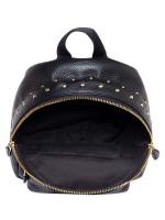 COACH 45070 Studded Mini Charlie Backpack Black