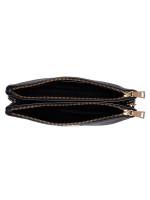 COACH 34265 Pebbled Leather Lyla Crossbosy Black