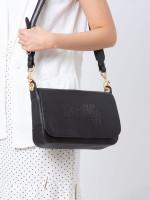 COACH 72703 Jess Leather Messenger Black