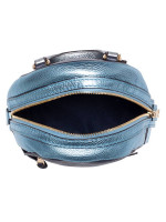 COACH 49122 Metallic Leather Colorblock Andi Backpack Midnight Multi