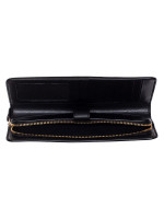 COACH 68399 Smooth Leather Skinny Wallet Black