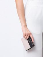 KATE SPADE Cameron Small Bifold Wallet Warm Beige Black